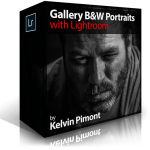 Gallery B&W Portraits with Lightroom