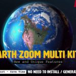 Videohive Earth Zoom Multi Kit V5 7962581 Free Download