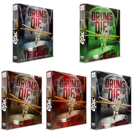 Epic Stock Media Drums To Die For Vol [1-5]