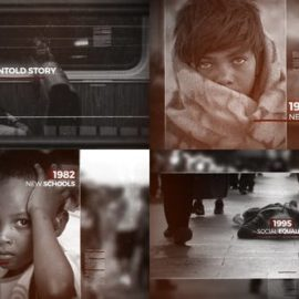 Videohive History Timeline 21633379 Free Download