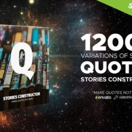 Videohive – Stories Constructor – Quotes – 22754435 Free Download