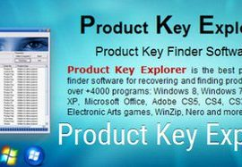 Nsasoft Product Key Explorer 4.1.2.0 Free Download