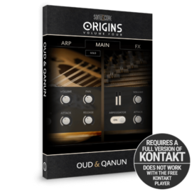 Sonuscore Origins Vol. 4: Oud and Qanun KONTAKT