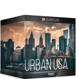 Boom Library Urban USA 3D Stereo Edition WAV