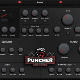 Industrykits Puncher 808 Engine VST v1.0 [WIN-MAC]