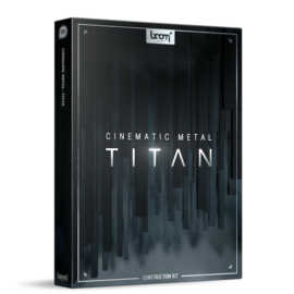 Boom Library Cinematic Metal – Titan Construction Kit WAV