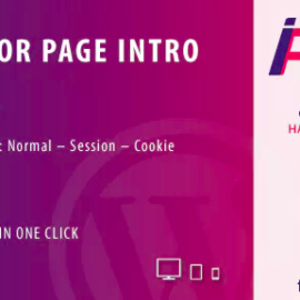 CodeCanyon – Page Intro for Elementor WordPress Plugin v1.0 – 24037891 Free Download