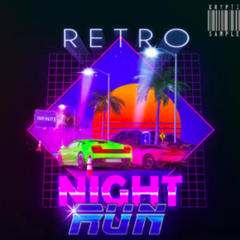 Kryptic Samples Retro Night Run WAV MiDi