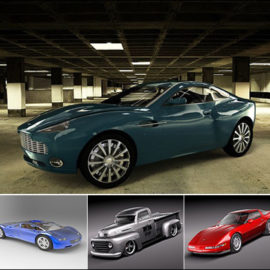 BMTee's Car Model Pack for Cinema 4D