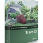 CGAxis – Volume 109 – Trees 3D Models Collection Free Download