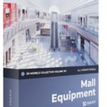 CGAxis Mall Equipment 3D Models Collection – Volume 107 Free Download