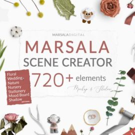CM – Marsala Scene Creator with Shadows 3248230