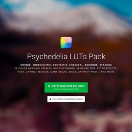 IWLTBAP Psychedelia Luts Pack Free Download [WIN-MAC]
