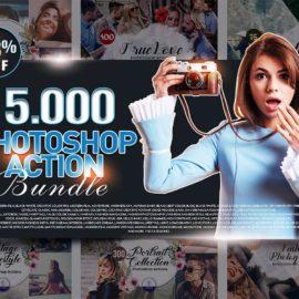 Inkydeals 15000+ Photoshop Actions Bundle