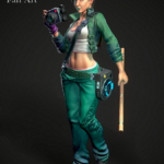 Beyond Good & Evil Jade 3D Model Free Download