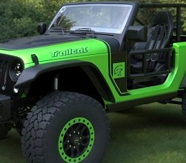 Jeep wrangler trailcat 2017 3d model Free Download