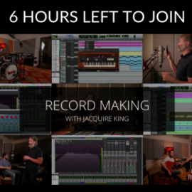 recordingrevolution Record Making with Jacquire King [TUTORiAL]