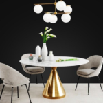 West elm set 12 3D Model Free Download