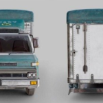 Nissan Diesel Condor Cargo Truck 3D Model Free Download