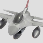 F-16 Fighting Falcon 3D Model Free Download