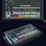 Roland TR-808 Rhythm Composer 3D Model Free Download