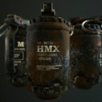 HMX Grenade 3D Model Free Download