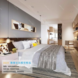 Modern Style Bedroom 56 (2019) Free Download