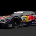 BMW M4 DTM Da Costa 2014 3D Model Free Download