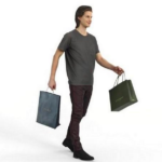 Casual Man Ready-Posed 3D Human Model Free Download