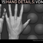 Zbrush – Hand Details VDM Brush Free Download