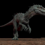 Indominus rex #2 3D Model Free Download