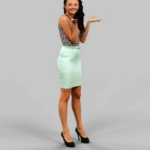 Female choosing 3D Model Free Download