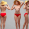 Naked Woman Standing 02 Scanned 3D Model Free Download