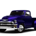 Chevy Cassei 1954 3D Model Free Download