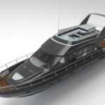 Luxury Yacht 3D Model