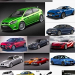 Car 3D Model Bundle August 2019