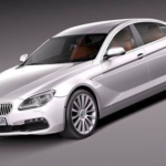 BMW 6-Series Gran Coupe 2015 3D Model