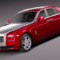 Rolls-Royce Ghost Series II 2015 3D Model