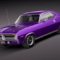 Plymouth Cuda Barracuda 1970 3D Model