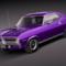 Plymouth Cuda Barracuda 1970 3D Model