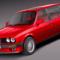 BMW e30 316i Touring 3D Model