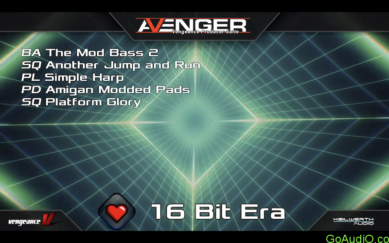 Vengeance Sound Avenger Expansion pack 16 Bit Era free download