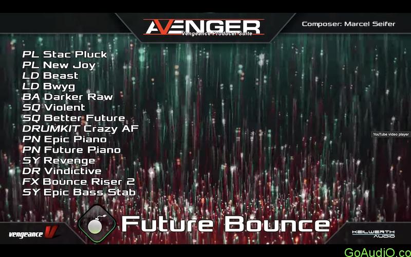 Vengeance Sound Avenger Expansion pack Future Bounce