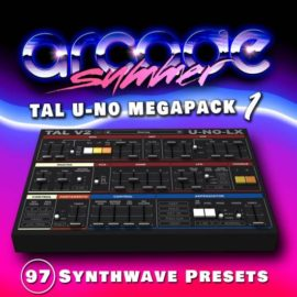 Arcade Summer – Presets Megapack 1- 4 for Togu Audio Line TAL-U-NO-LX