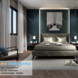 Modern Style Bedroom 79 (2019)