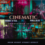 GraphicRiver – Cinematic Orange & Teal Pink & Blue Actions 24356673 Free Download