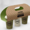 Three Cup Paper Carrier Packaging Mockup