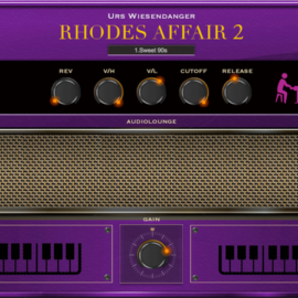 Audiolounge Urs Wiesendanger Rhodes Affair 2 Preset Player [WiN]