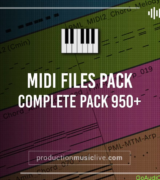 Production Music Live MIDI COMPLETE PACK (950+files)