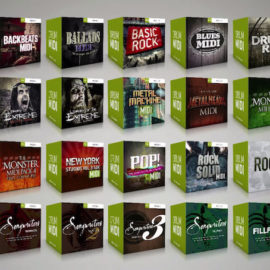 Toontrack MIDI Packs BUNDLE [WiN-MAC]